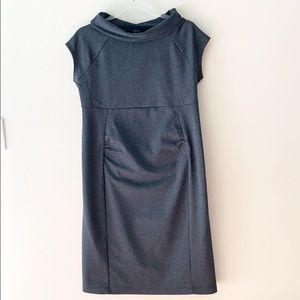 Gap Maternity Charcoal Gray Cowl Neck Dress M